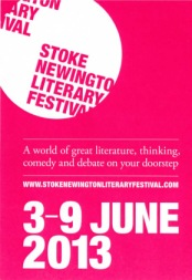 Stoke Newington Literary Festival 2013