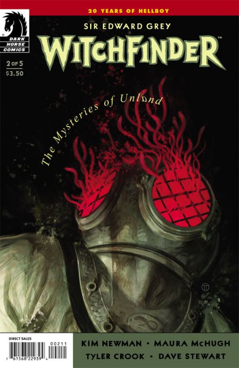 Issue 2 of Witchfinder: The Mysteries of Unland