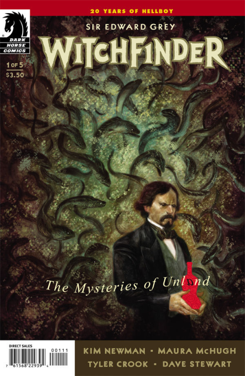 Issue 1 of Witchfinder: The Mysteries of Unland