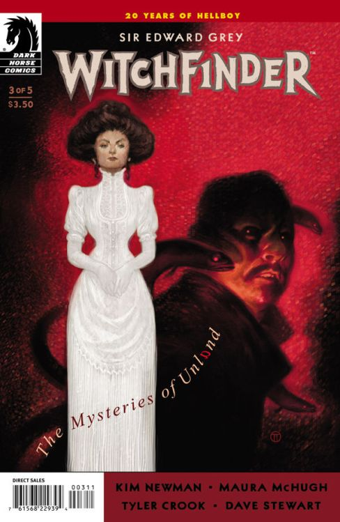 Issue 3 of Witchfinder: The Mysteries of Unland