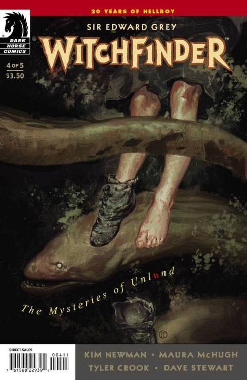 Issue 4 of Witchfinder: The Mysteries of Unland