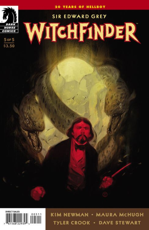 Issue 5 of Witchfinder: The Mysteries of Unland