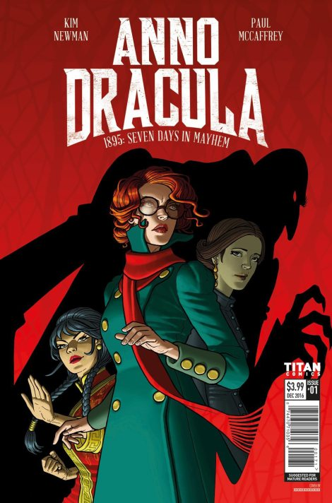 Anno Dracula comic – issue one cover reveal …