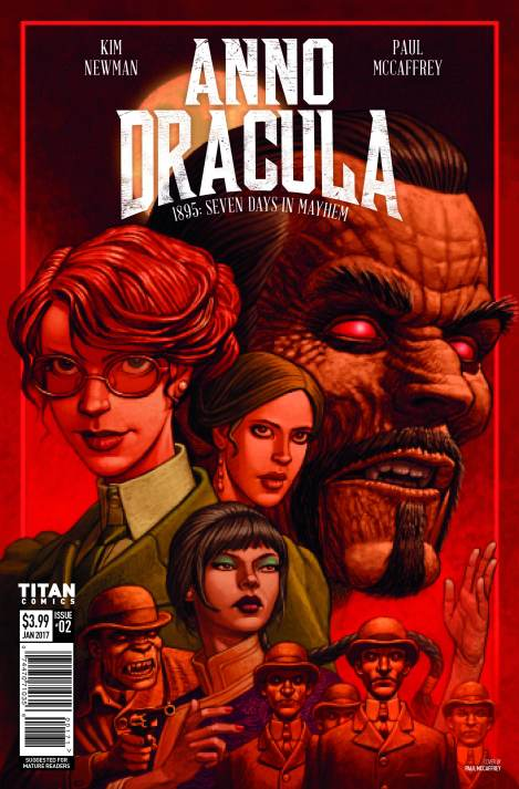 Anno Dracula Seven Days in Mayhem # 2 – out April19th